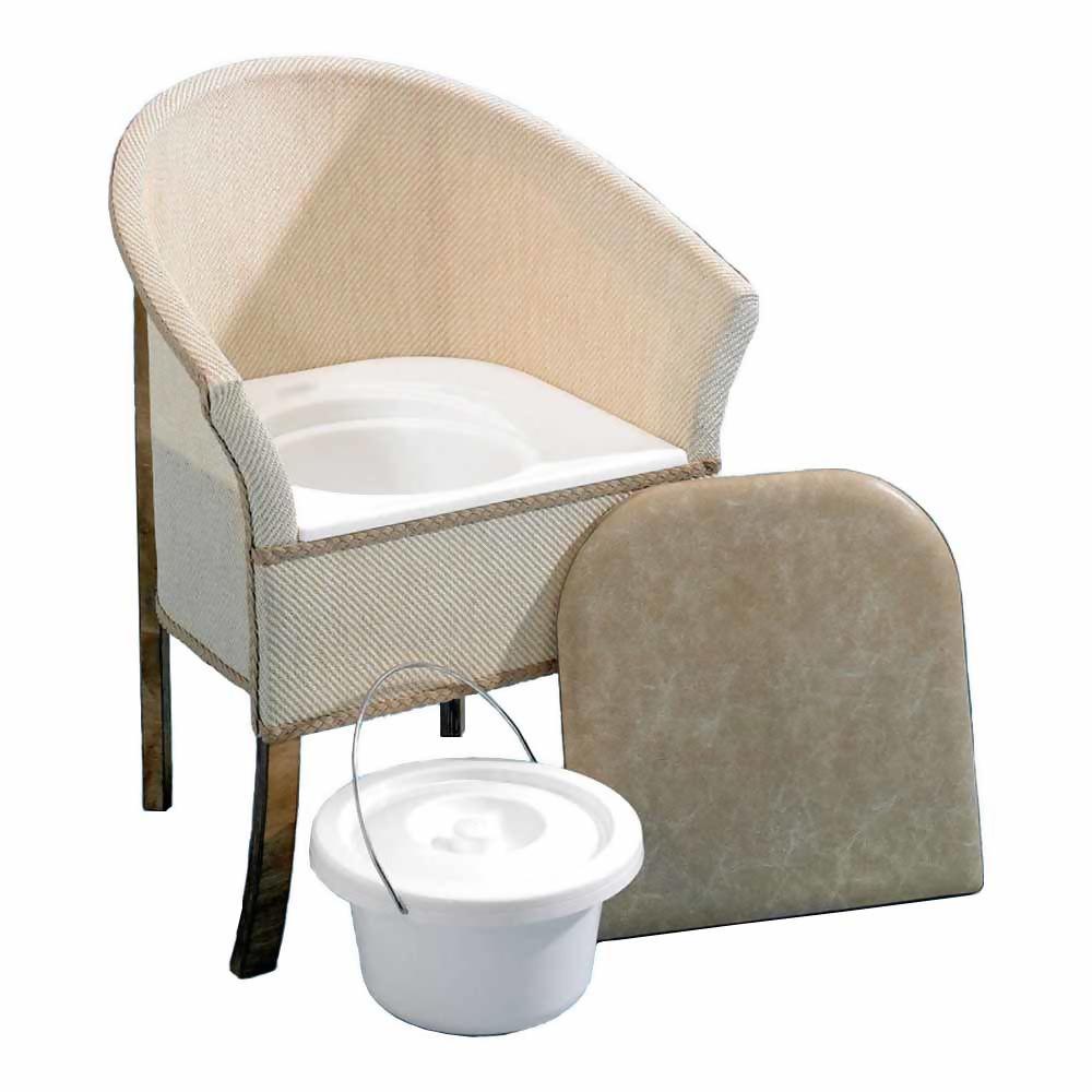 Homecraft Bedroom Commode Chair - 9