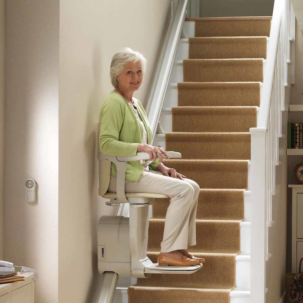 Reconditioned Stannah Siena 600 Straight Stairlift